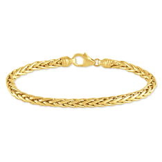 Bracelet Or Jaune Maille Palmier - Bracelets mailles Femme | Marc Orian