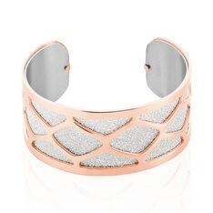 Bracelet Jonc Tamara Acier Rose