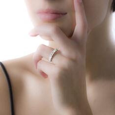 Demi-Alliance Or Blanc Eloise Diamants