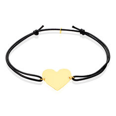 Bracelet Or Jaune Coeur