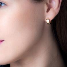 Creoles Or Jaune 6mm Diam 10mm - Boucles d'oreilles Créoles Femme | Marc Orian
