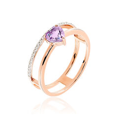 Bague Fanny Or Rose
