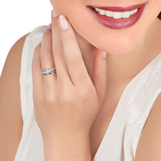 Bague Or Blanc Emilie Diamants