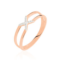 Bague Or Rose Odilia