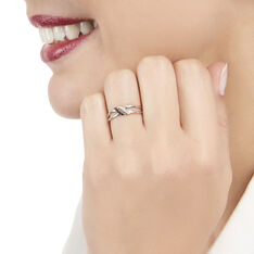 Bague Aline Or Blanc Et Diamants