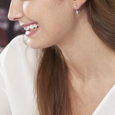 Bijoux D'Oreilles Argent Rhodie Cairo - Boucles d'oreilles Ear cuffs Femme | Marc Orian