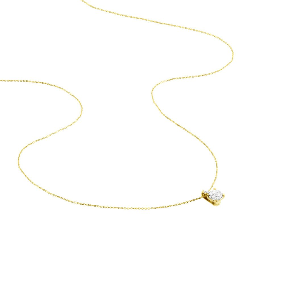 Collier Kate Or Jaune Et Diamant - Colliers Femme | Marc Orian