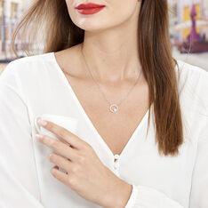 Collier Argent Oxyde Perle De Culture