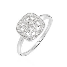 Bague Or Blanc Alixia Diamant