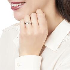 Bague Angele Or Blanc Vagues Diamants