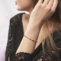 Bracelet Plaque Or