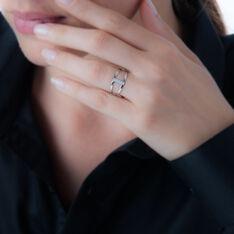 Bague Or Blanc Lucie Diamants