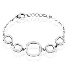 Bracelet Acier Carrees