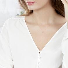 Collier Kate Or Jaune Et Diamant - Colliers Femme | Marc Orian