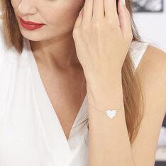 Bracelet Or Rose Pastille - Bracelets chaînes Femme | Marc Orian