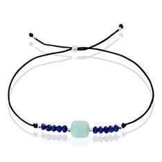 Bracelet Argent Rhodie Barbara Lapis