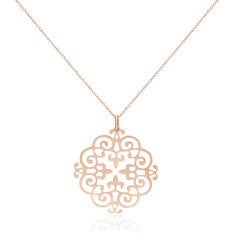 Collier Agadir Or Rose