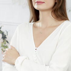 Collier Alona Or Bicolore - Colliers Femme   Marc Orian