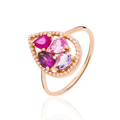 Bague Mila Or Rose
