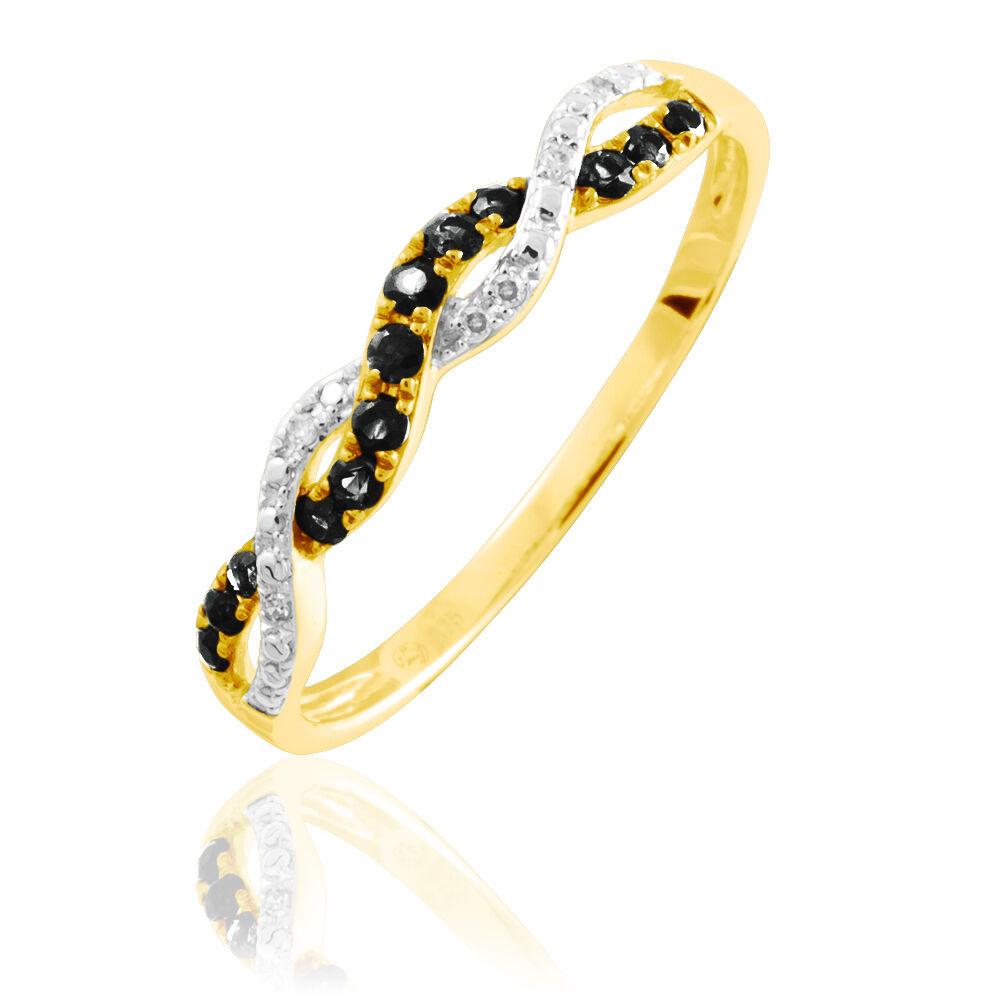 marc orian bague diamant noir