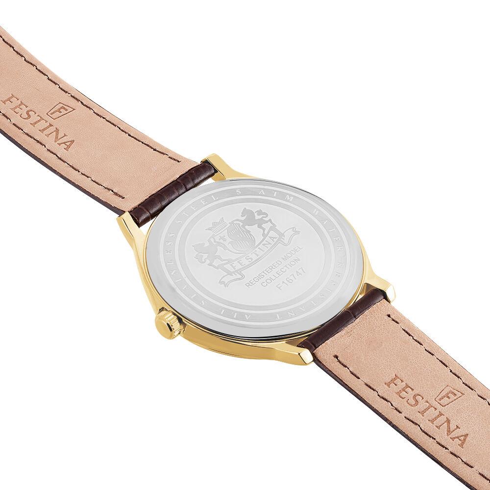 bracelet cuir montre festina