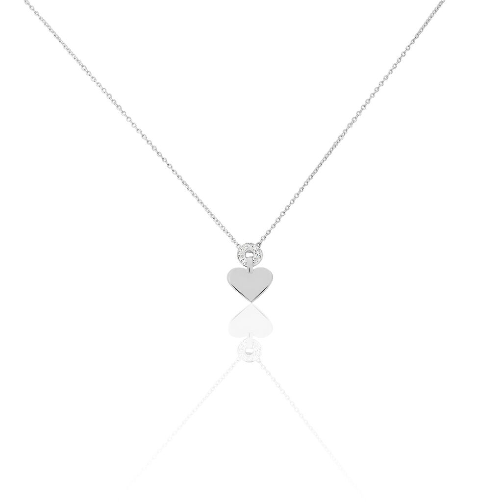 Collier Or Blanc Loreen Diamants