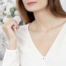 Collier Cupidon Or Blanc Et Diamant - Parure de mariage Femme | Marc Orian