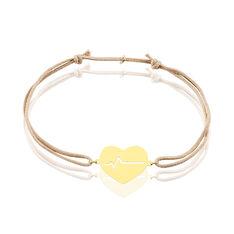 Bracelet Onelia Or Rose Coeur - Bracelets chaînes Femme | Marc Orian