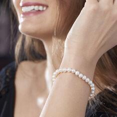 Bracelet Or Perle De Culture