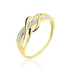 Bague Assa Or Jaune Et Diamant