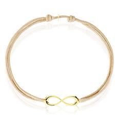 Bracelet Infini Or Jaune
