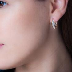 Creoles Luna 3 Ors - Boucles d'oreilles Créoles Femme | Marc Orian