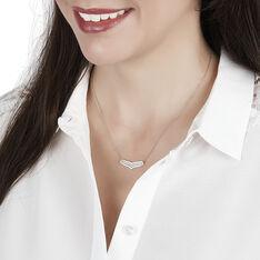 Collier Alix Or Jaune Et Diamants