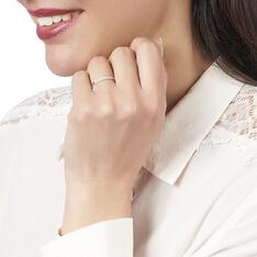Bague Amani Or Blanc Barrette Diamants