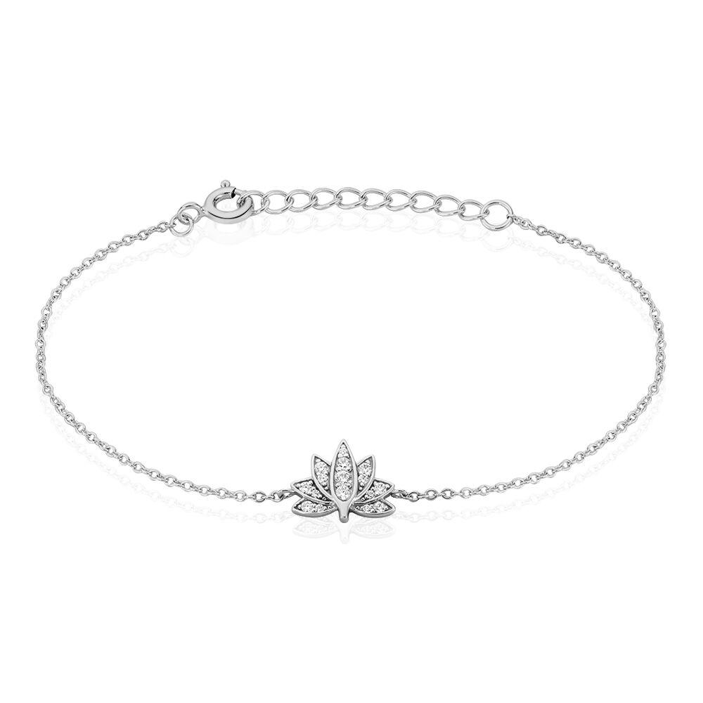 bracelet femme argent feuille