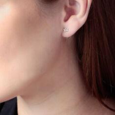 Boucles D'Oreilles Or Jaune Papillons - Clous d'oreilles Femme | Marc Orian