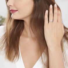 Bague Argent Cynthia Plume Oxyde