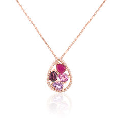 Collier Mila Or Rose