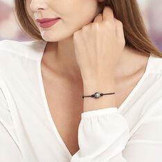Bracelet Cordon Et Perle