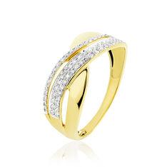 Bague Merlin Or Jaune Et Diamant - Parure de mariage Femme | Marc Orian