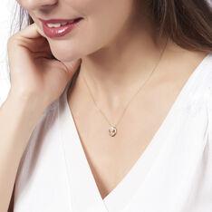 Collier Amane Or Jaune Cercle Diamant - Parure de mariage Femme   Marc Orian