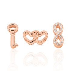 Lot Pampilles Laiton Rose Robyn - Charms Femme | Marc Orian