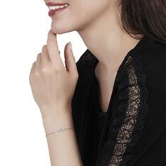 Bracelet Klem Or Blanc Diamants