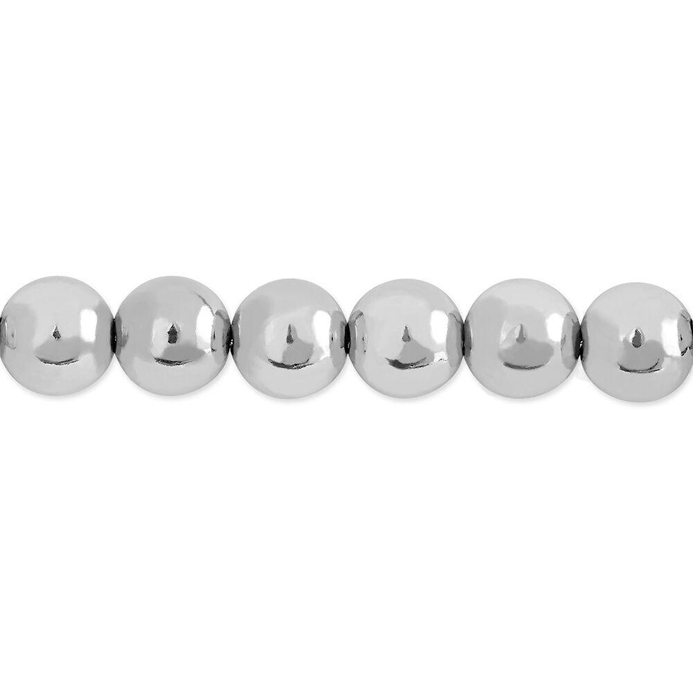 bracelet argent maille boule