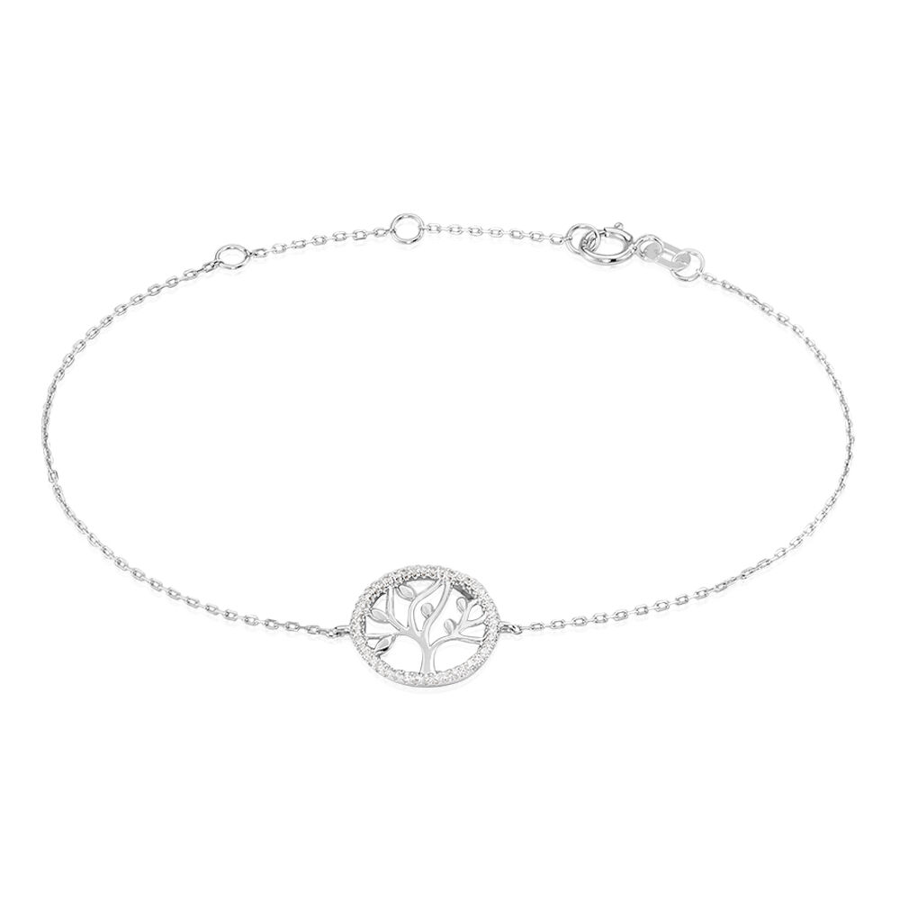 bracelet femme argent arbre de vie