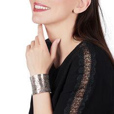 Bracelet Acier Demi Jonc Large
