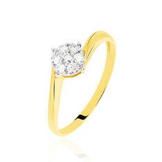 Solitaire Or Et Diamant