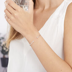 Bracelet Jonc Regine Argent