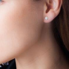 Boucles D'Oreilles Or Perle De Culture - Clous d'oreilles Femme | Marc Orian