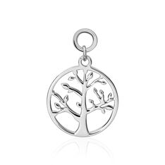 Pampille Argent Rhodie - Charms Femme | Marc Orian